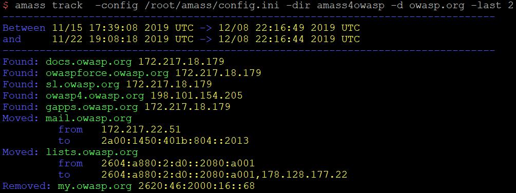OWASP Amass Track image