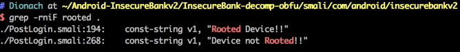 android bypass root detection reversing